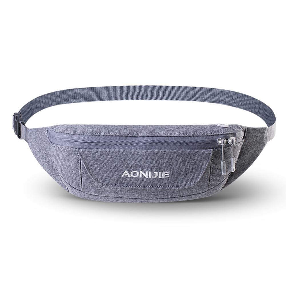 AONIJIE Unisex Waistpack Pouch Outdoor Camping Hiking Running Waist Bags Waist Bags With Adjustable Belt ...