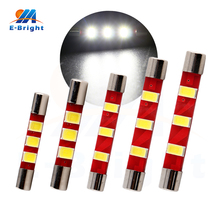 4pcs/lot 28mm 31mm 36mm 39mm 41mm 12V T6 Base Type Bulbs 5730 3 SMD Led Dome Light Pate Number Reading light Ceiling Lamp