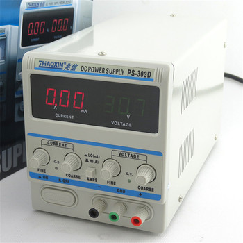 PS-303D 30V 3A Adjustable Power Supply DC Power Supply Power Supply Milliamp Conversion Phone Repair Power Supply 0.1V 0.01A