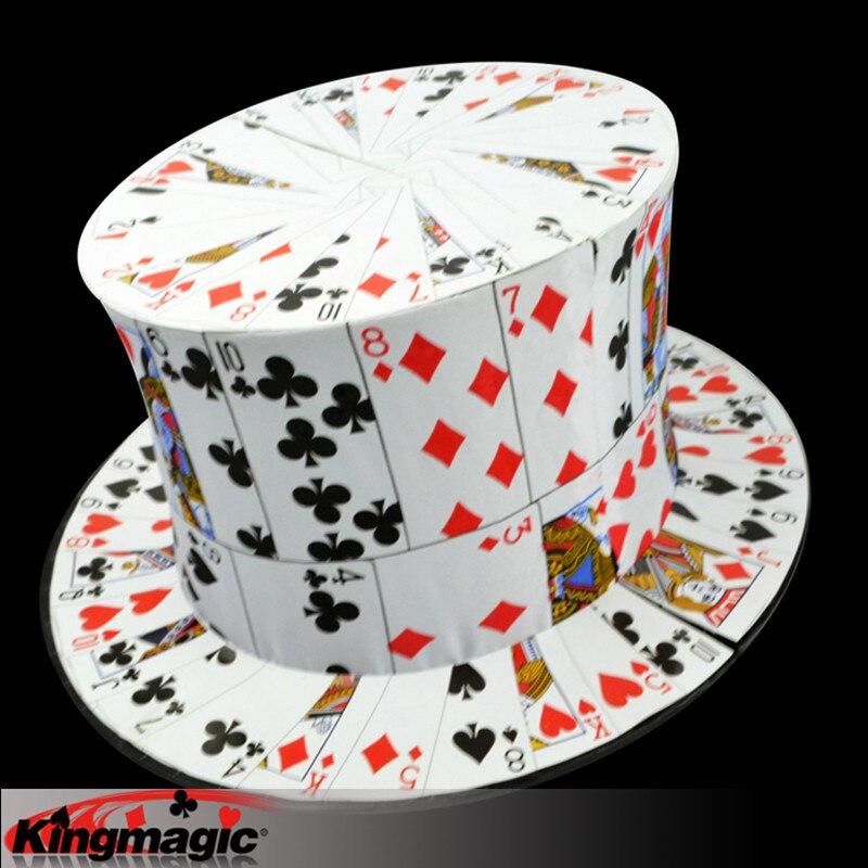 Carte à chapeau haut-de-forme scène tours de Magie jouets Magie Magia - 4