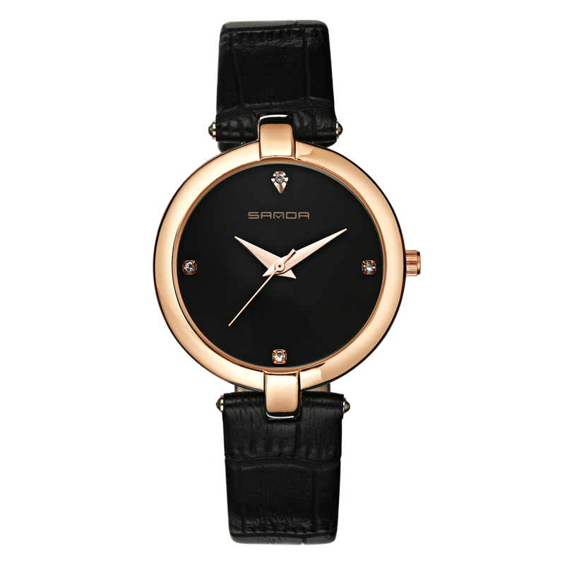 Aliexpress.com : Buy Luxury Brand Sanda Quartz Women's ...