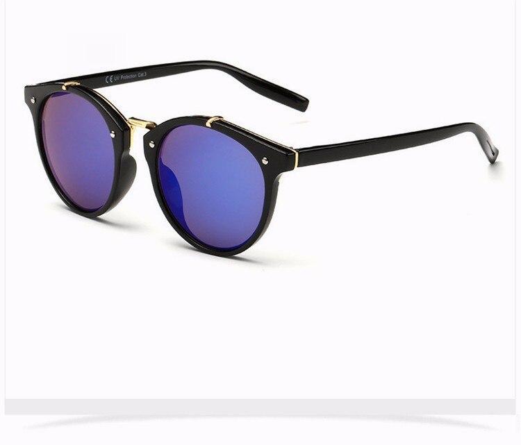 Fashion Vintage Round Sunglasses Women Men Brand Designer Retro Mirror Sunglass Ladies Female Male Sun Glasses For Women Glasses (16)