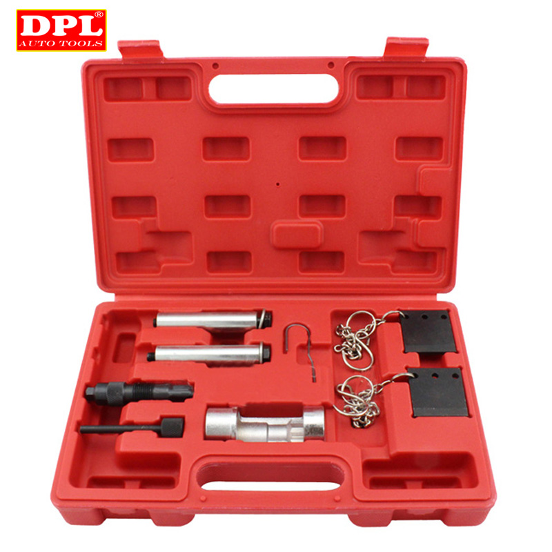 Car Garage Tools Cam Alignment Locking Tool For Audi A4 A6 A8 A11 2.5 2.7 Diesel Engine Timing Tool utool engine camshaft crankshaft locking alignment timing tool kit for audi a2 a3 a4 a6 a8 2 4 3 2l v6 fsi t40070 t40069 t10172