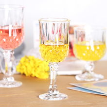 Lead-free glass Goblet Beer Whiskey Cup Classic Style Glass Diamond Red Wine Glasses Champagne Of Whisky Nordic wineglass