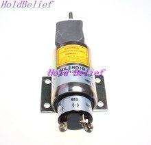 Новый Отсечки Топлива Стоп Электромагнитный Клапан 2001-12E2U1B1S1A 12 В для Вудворд