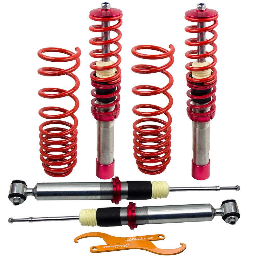 Coilovers Shock Absorbers for BMW 5 Series E39 Sedan 1995 1996 1997 1998 1999 2000 2001 2002 2003 Street Use rear side shocks spring absorbers for honda rebel 250 cmx250 1985 2012 1986 1988 1990 1992 1995 1999 2000 2001 2002 2005 2010