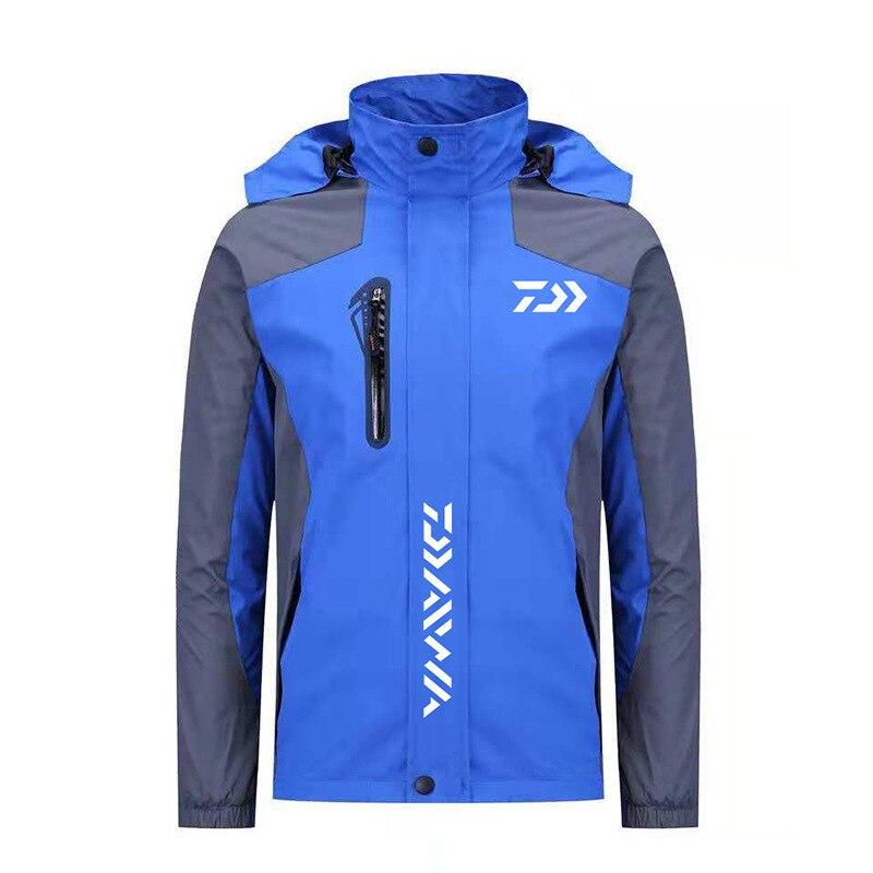 2019 nouveauté automne hommes veste imperméable en plein air Camping voyage Trekking manteau pêche coupe-vent randonnée veste
