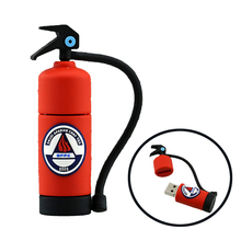 Fire extinguisher model 4gb 8gb 16gb 32gb usb flash drive