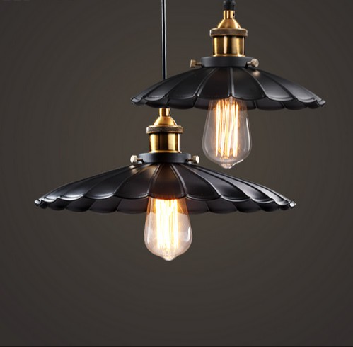 Retro Loft Style Edison Industrial Droplight Vintage Pendant Light Fixtures For Dining Room Hanging Lamp Home Lighting retro loft style iron cage droplight industrial edison vintage pendant lamps dining room hanging light fixtures indoor lighting