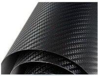 3D Carbon Fiber Vinyl Sheet Wrap Wrapping Twill Weave 30cmx120cm For BMW VW KIA IPAD
