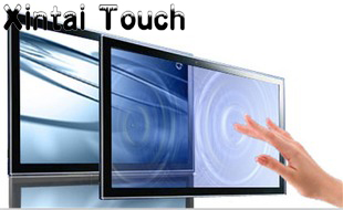 46 16:9 Multi IR Touch Screen Frame USB Infrared Multi Touch Screen Panel Plug And Play 10 Points touch цена
