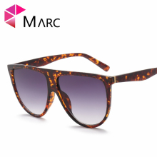 MARC UV400 WOMEN Eyewear designer Wrap Shield Gradient Orange Blue Plastic sunglasses Oculos Clear Men