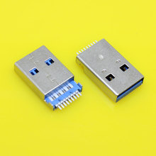 cltgxdd US-047     female USB 3.0 jack connector socket plug180degree SMT USB male seat