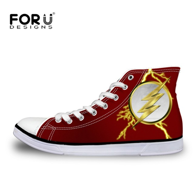 FORUDESIGNS Hot Men s High Top Canvas Shoes 3a7331789c24