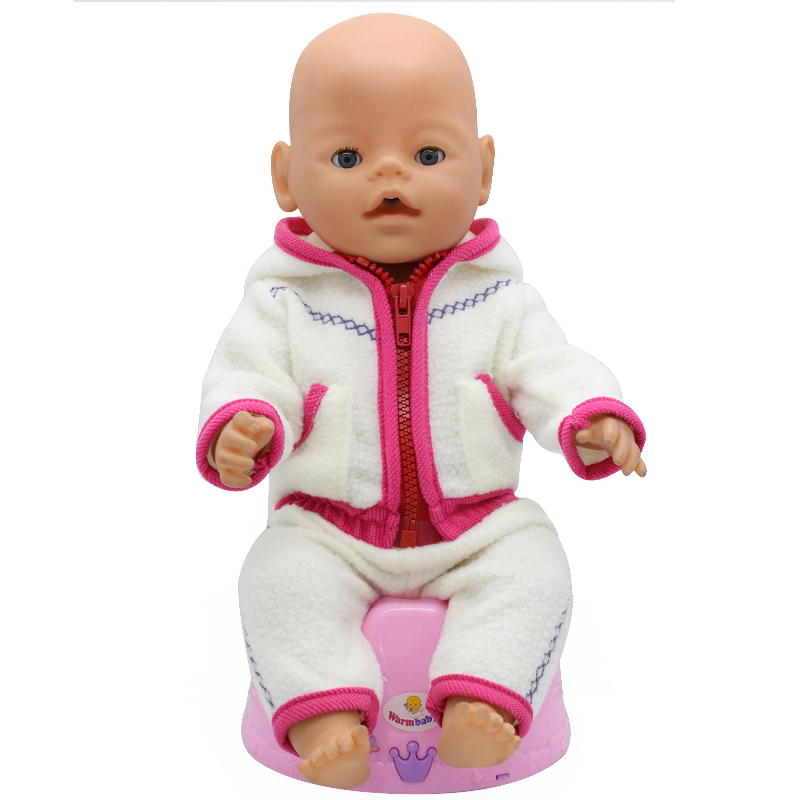 Tiger-Jackets-and-Pants-Suit-Dress-Doll-Clothes-fit-43cm-Baby-Born-Zapf-Doll-Clothes-and-17inch-Doll-Accessories-Handmade-186-4