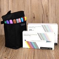 Finecolor Brand 201 Series Water Based 12colors 24 Colors 36 Colors Double Slider Mark Pen For