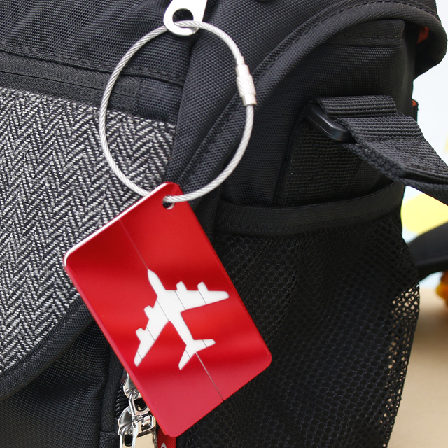 Colorful Aluminum Luggage Tag