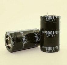 24PCS 2PCS 10000uF 63V 63V 10000uF Electrolytic Capacitor 30x50MM best quality