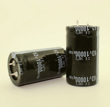FREE SHIPPING 6PCS/LOT 10000uF 63V 63V 10000uF  Electrolytic Capacitor 30x50MM best quality