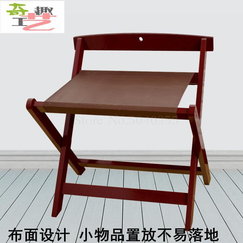 Гостиничная багажная полка мебель для отеля вешалка для спальни напольная Складная Бытовая прикроватная вешалка для одежды деревянный