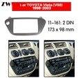 Автомобильный dvd-плеер рамка для TOYOTA Vista V50 1998-2003 2DIN Авто радио мультимедиа NAVI fascia