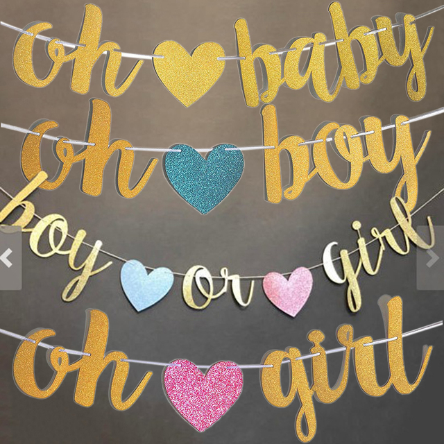celebrating banners for baby birthday party decoration flags oh boy