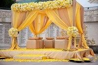 3 м * 3 м * 3 м куб Свадебный фон Свадебный павильон Свадебная палатка для украшения свадьбы Вечерние украшения