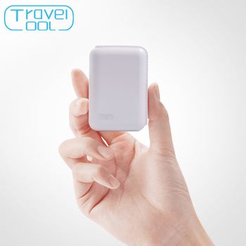 Travelcool Mini Power Bank Carregador Rápido 7200 mah Carregador Portátil de Bateria Externa para iphone Samsung Xiaomi Powerbank Dupla USB