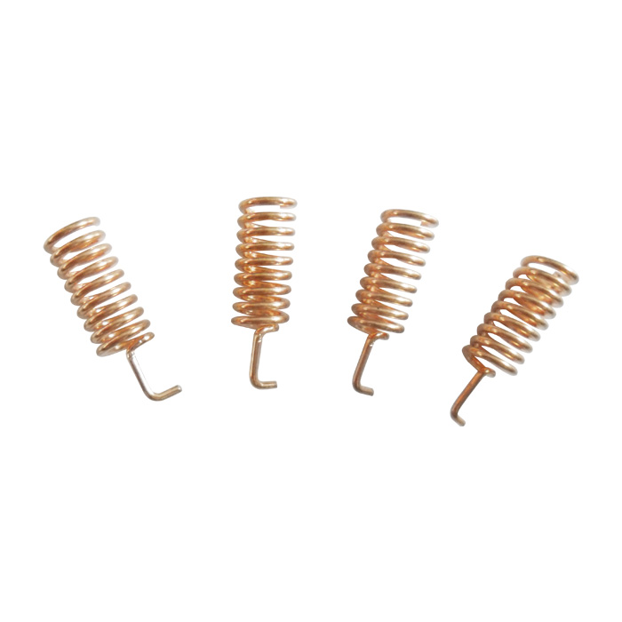 100pcs/lot SW868-TH13 - 868MHz Copper Helical Antenna