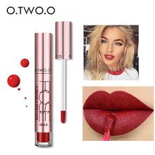 O.TWO.O 12 colors High Quality Velvet Matte lipstick Long Lasting Lips Makeup Waterproof Easy to Wear Liquid Lip Gloss