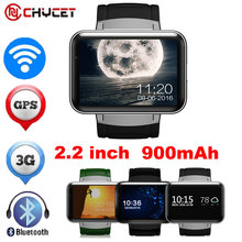 2017 Wifi Bluetooth Watch Anroid 4.4 Smart Watch DM98 2.2 inch LED Display SIM Card Reminder Calls for Android ios PK amazfit