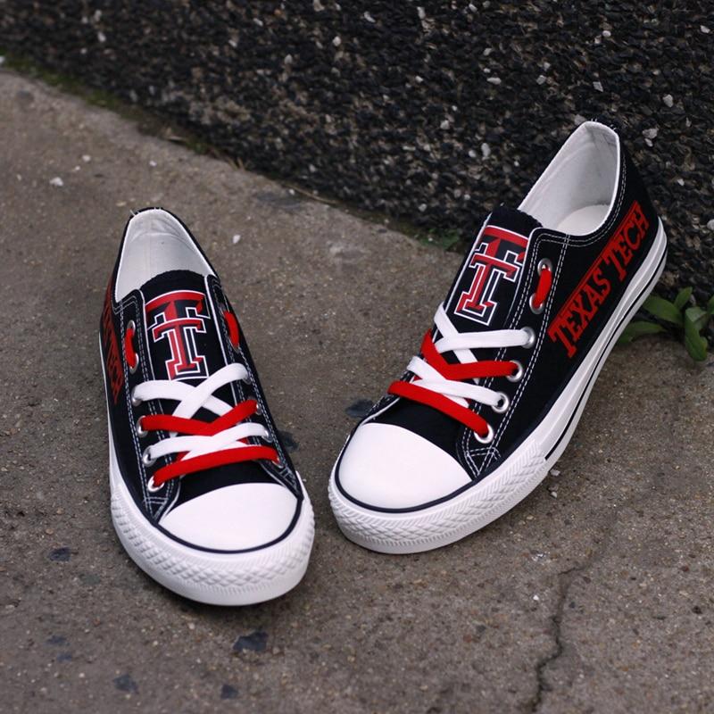Américain Espadrilles Chaussures dv171h Casual Plates dv90r Adultes Personnalisé Toile Conception Imprimer 0000 Drop T Low t Étudiant Texas Top Collège Shipping rq0wIHr7n