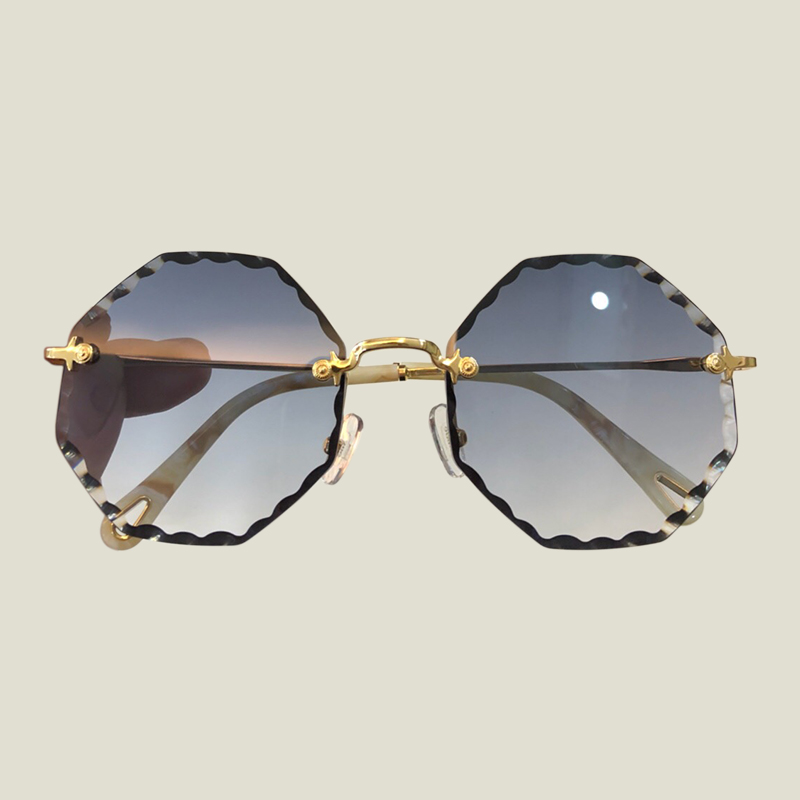 Vintage Rond Sunglasses 2018 New Double Bridge Sunglasses Women Brand Designer High Quality Oculos De Sol Masculin Eyewear