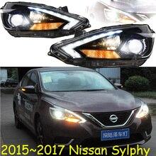 HID,2016~2018,Car Styling,Sylphy Headlight,Micra,Titan,versa,stanza,sentra,Tsuru,stagea,Rogue;Sylphy head lamp,bluebird