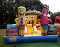 2016 new design commercial material spongebob inflatable bouncer castle /inflatable bouncy house for kids