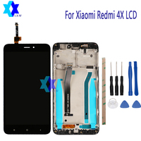 For Xiaomi Redmi 4X LCD Display Touch Screen Panel Digital Replacement Parts Assembly Original 5 0inch