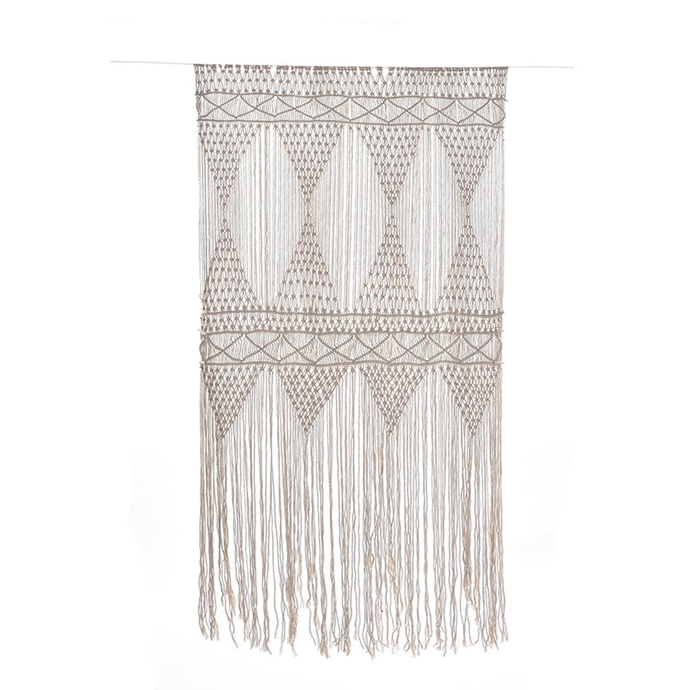 120x180cm Purely Handmade Knitting Tapestry Bohemian Macrame Woven Wall Hanging Handmade Tapestry Home Wedding Ornaments