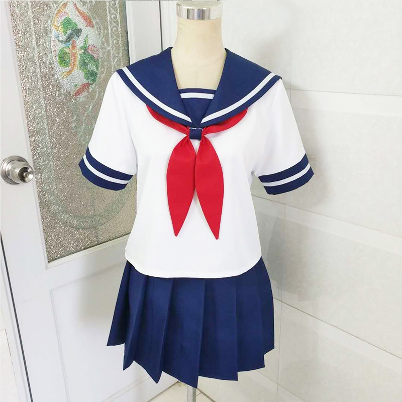 Yandere Simulator Ayano Aishi Yandere-chan Cosplay school uniform  customized any size