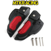MTKRACING For Vespa Prima 125 150 Sprint 125 150 3vie Foot Rests Passenger Extensions Extended Footpegs Adapter