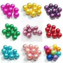 Wholesale ! 12mm/16mm/20mm Imitation/ Acrylic Wrinkle Pearl Chunky Beads (Choose Color/Size )