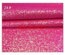 20 цветов Ткань блеск винил Синтетическая кожа лоскутное для бумажник телефон Обложка волос лук сумки DIY 20 * см 34 см 10 шт./лот PGL01