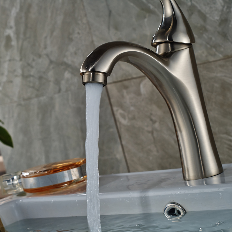 Free Shipping Single Lever Bathroom Mixer Water Faucet Deck Mounted ...