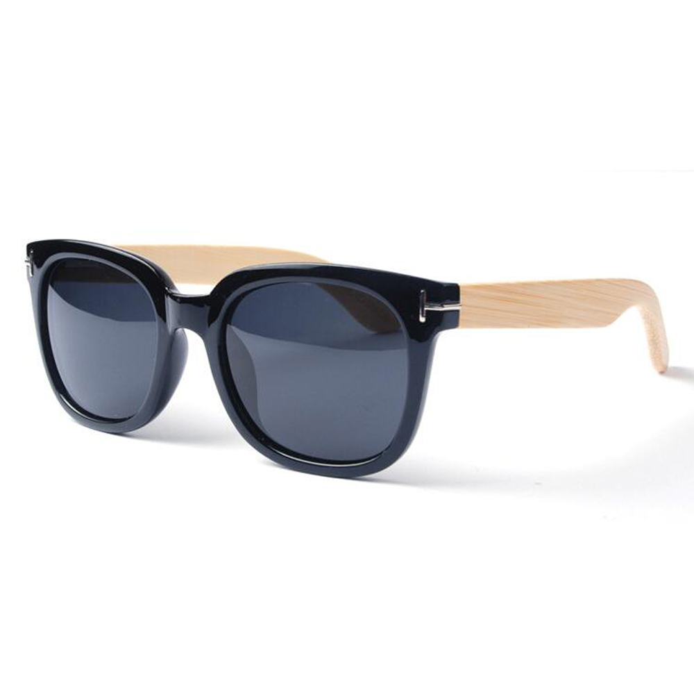 BerWer 2018 Produk Wanita Pria Unisex Sunglass Merek Desainer Kacamata  Bambu Retro Vintage bambu Kaki Eyewear 8559239e71