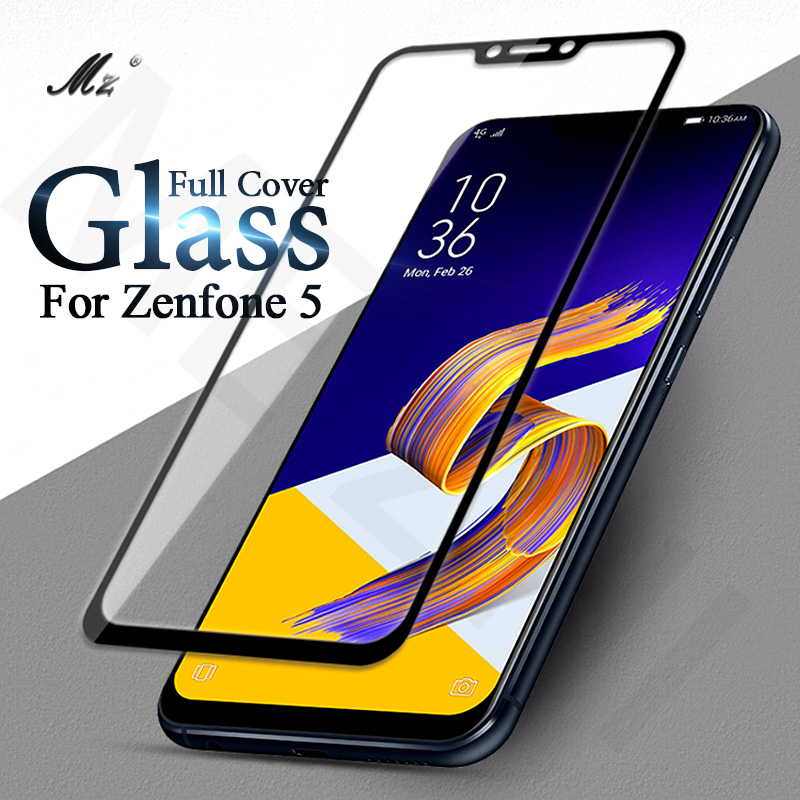 For ASUS Zenfone 5 ZE620KL Screen Protector Full Cover 9H Tempered Glass Film For Zenfone 5 ZE620KL Screen Protector 5Z SE620KL