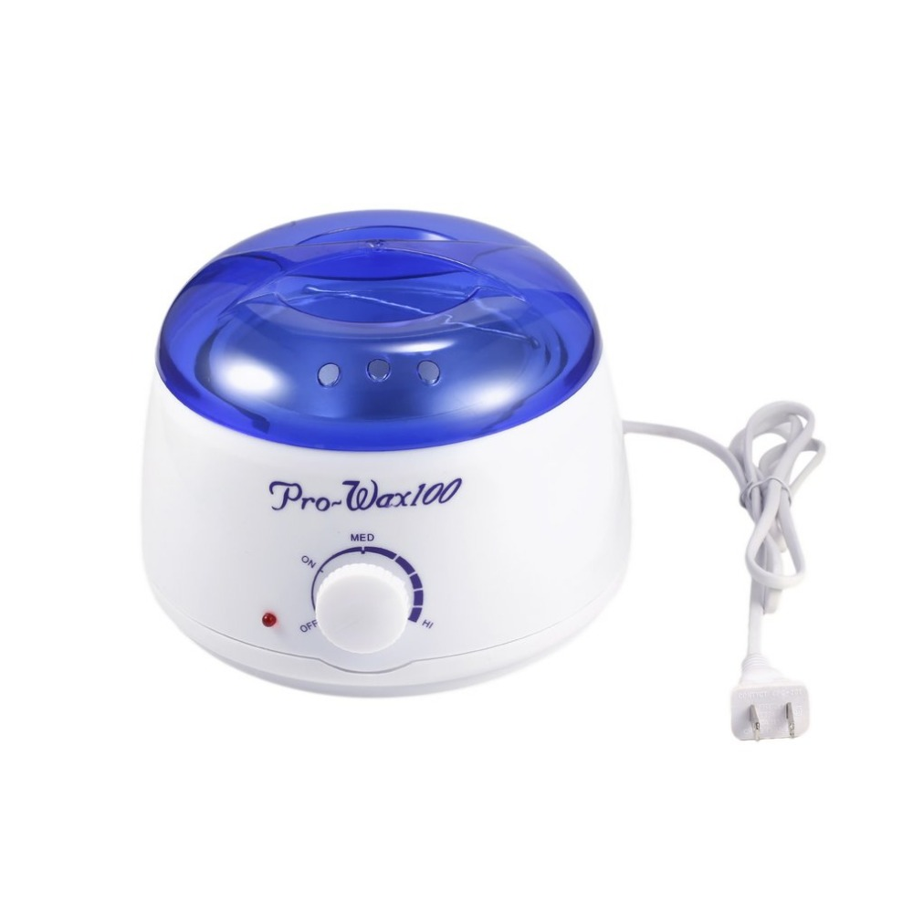 Hot Professional Wax Warmer Paraffin Pot Heater Hair Removal Salon Beauty Equipment Temperature Adjustable Removable Pot