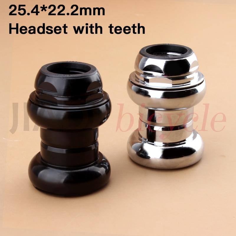 MUQZI Fixed Gear Racing Headset  22.2mm 1 Inch Retro Racing Road Bike Track Bike Headsets Bearing Aluminium Alloy
