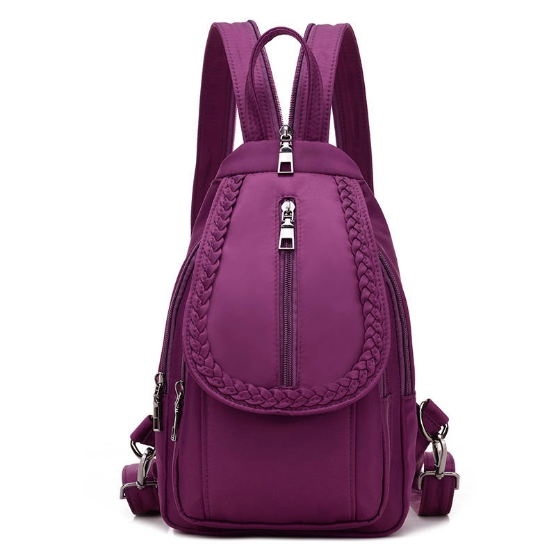 Fashion Mini Backpack Women's Backpack waterproof nylon Bags Girl Travel Backpack Small Chest Pack Bag Schoolbags