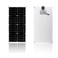 40W Polysilicon Silicon Solar Panel with Dual USB Port for Car Boat Yacht Battery Chargers TSH Shop