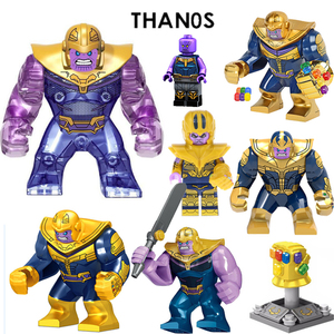 Image 2 - Thanos Building Blocks Energy Stones Gloves Marvel New Avengers 4 endgame Compatible with Super Hero Bricks Toys Building Blocks