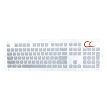 Translucent Double Shot Crystal 104 KeyCaps Backlit for Cherry MX Keyboard Switch Gaming Keyboard Backlit Keycaps Teclado Gamer(China)